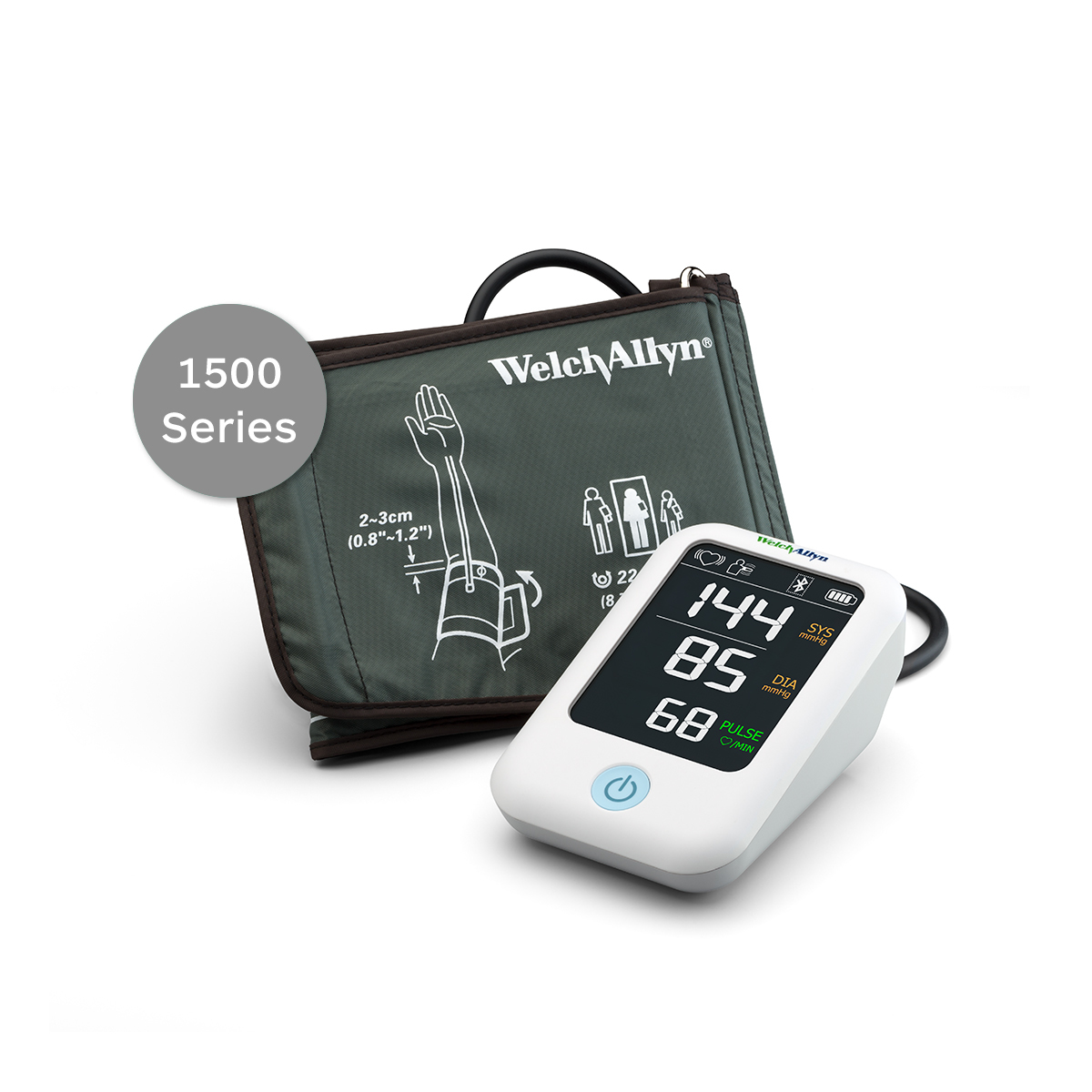 Welch Allyn Home Blood Pressure Monitor 1500 Series